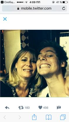 Luke and Liz(Luke's mum) ❤️