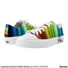 Legendary Rainbow Killer Kickers Printed Shoes