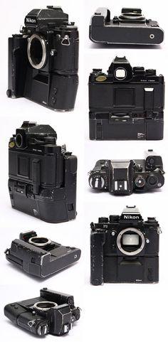 Nikon Film Body (in rough shape) Nikon Camera Lenses, Nikon Dslr, Camera Gear, Nikon Cameras, 35mm Camera, Canon Lens, Antique Cameras, Vintage Cameras, Photo Lens