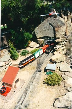 Antine Landscape backyard train