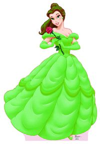 ... Belle Green Dress on Pinterest | Princess Belle, Green Dress and Belle Beauty And The Beast Belle Pink Dress