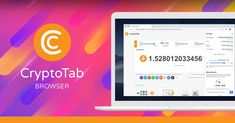 CryptoTab Browser is the world's first web browser with built-in mining features. Familiar Chrome user interface is perfectly combined with extremely fast mining speed. Mine and browse at the same time! Bitcoin Mining Software, Free Bitcoin Mining, Bitcoin Miner, Blockchain, Fast Browser, Web Browser, Navigateur Web, Crypto Mining, Everyday Activities