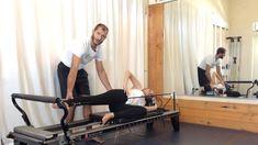 Glute Sculpting-- Single-Leg Foot-in-Strap-- Pilates Reformer Legs Workout Glute Medius, Buns Of Steel, Pilates Equipment, Leg Work, Pilates Reformer, Glutes, Teacher Videos, Sculpting, Legs