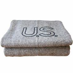Faribault Woolen Mills Military Blanket / from Three Potato Four