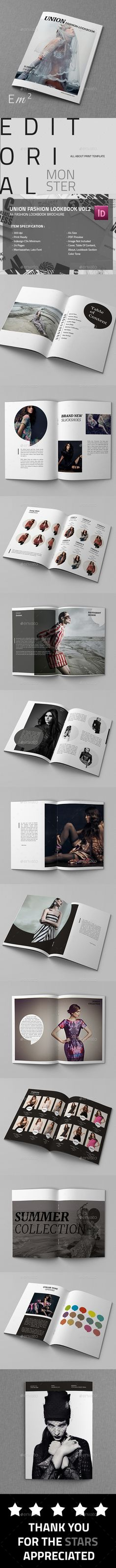 A4 Union - Fashion Lookbook Template #design Download: http://graphicriver.net/item/a4-union-fashion-lookbook-vol2/12796819?ref=ksioks