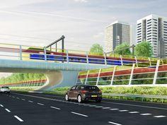 A2 Highway near Den Bosch