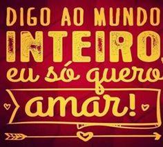 Amar... Amor....