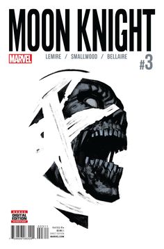 """LET YOUR INSANITY GUIDE YOU"" • Marc Spector has escaped into the subway tunnels below the mental hospital. • MOON KNIGHT has escaped into the tombs beneath the prison where he had been trapped by SET"