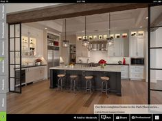 A light and airy kitchen for a desert climate. Be inspired by Park Place, a Sub-Zero, Wolf, and Cove Transitional Kitchen Design Contest Winner. Home Interior, Kitchen Interior, New Kitchen, Kitchen Ideas, Wolf Kitchen, Kitchen Layout, Country Kitchen, Eclectic Kitchen, Vintage Kitchen