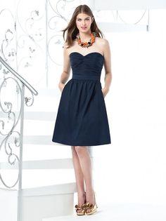 A-line Sweetheart Shirred Bodice Matching Belt Chiffon Bridesmaid Dress-wbm0073, $164.95