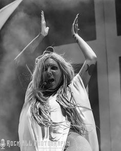 Epic Firetruck's Maria Brink & In This Moment - Photo by Shawn Wiseman ~ Maria Brink, Halestorm, Concert Photography, Metal Girl, Alternative Music, Linkin Park, These Girls, Music Stuff, Hard Rock