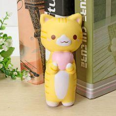 Jumbo-Squishy-Vlampo-Kitten-Cat-Love-Heart-Original-Collection-Gift-Brand-New