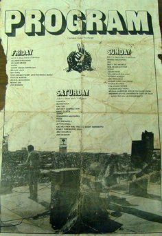 Atlanta International Pop Festival Poster ~ Byron, GA, 1970