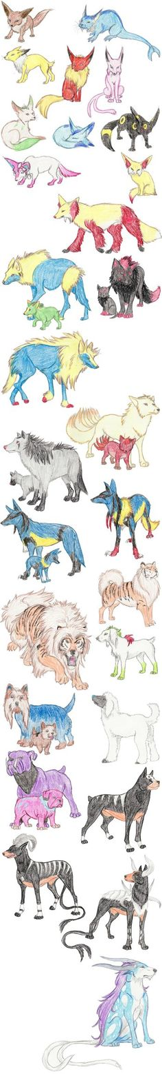 Dog Pokemon by DragonlordRynn on DeviantArt