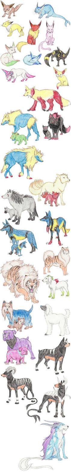 Dog Pokemon by DragonlordRynn on deviantART