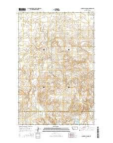 ~ Sunnyhill School MT topo map, 1:24000 scale, 7.5 X 7.5 Minute, Current, 2014