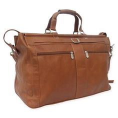 Product Image for Piel® Leather Carpet Bag 1 out of 3