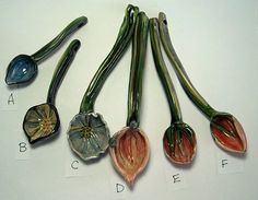 Clay spoons for sugar salt or serving by Majoleeka on Etsy, $19.00
