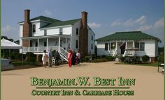 Snow Hill, NC.  Greene County. Benjamin. W. Best Inn | Country Inn & Carriage House