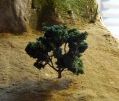 how to make A Miniature Tree for models