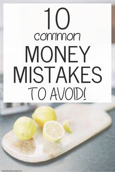 Are you making these common money mistakes? Read about these money mistakes to avoid so you can stop living paycheck to paycheck and live within your means! These money saving tips will help show you where you're wasting money and if you're spending too much money. #savingtips #tipstosave #moneymanagement #howtosavemoney