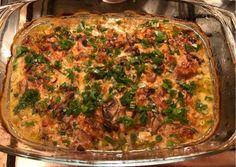 Meat Recipes, Recipies, Cooking Recipes, Good Food, Yummy Food, Ciabatta, Lasagna, Quiche, Hamburger