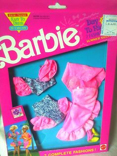 VINTAGE 1991 DAY TO NIGHT FASHION BARBIE DOLL OUTFIT NEW NRFB