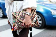 stylish clutch handbags & purses beaded and embellished envelope clutch bag