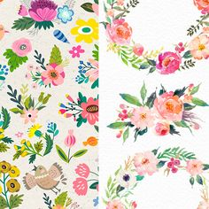 Well, today I wanted to share my some of my favorite digital items that I'd been drooling over and been wanting to add to my digital library -like, yesterday! So, let's start off with this gorgeous gorgeous goreousHandrawn digital watercolor flower clip art- pack #4 byGraphic Box that has been literally calling my name! [showmyads] …