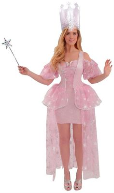 Wizard of Oz Glinda Adult Plus Costume Includes dress. Does not include crown or star wand. This is an officially licensed Wizard of Oz product. Weight (lbs) Length (inches) Width (inches) Height(inches) Adult Costumes Pink Plus Everyday Female Adult Wizard Costume, White Witch Costume, White Queen Costume, Glinda Costume, Dc Costumes, Witch Costumes, Costume Shop, Super Hero Costumes, Baby Halloween Costumes