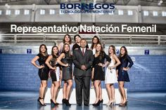 Equipo Representativo de Natación Femenil