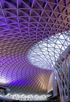 King's Cross Railway Station, London. Designed by John McAslan (2012)