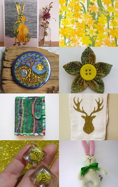 Spring, Spring, Spring... by Ellie Dale on Etsy--Pinned with TreasuryPin.com