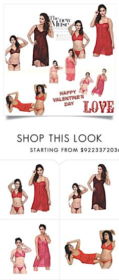 """""""#VALENTINE DAY ROMANTIC GIFTS"""" by lavanyas-trendzs ❤ liked on Polyvore"""