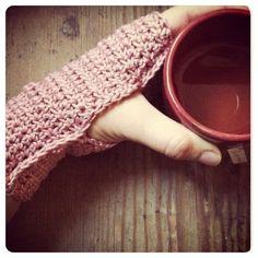 Mitones, herramienta básica para el invierno #crochet #winter