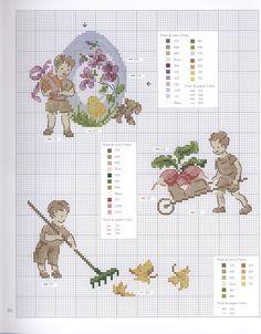 Dans Mon Jardin au Point de Croix Book - Les livre pour enfants