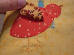 If the Stitch Fits: How to Make Your Own Applique Pattern