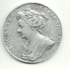 1702  CORONATION of Queen ANNE  Genuine by FascinatingHobbies