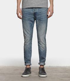 Yukai Taper Jeans | AllSaints - light wash for spring