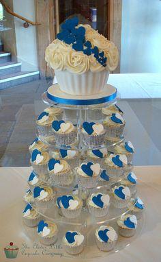 Cobalt Blue Wedding Tower   Flickr - Photo Sharing!