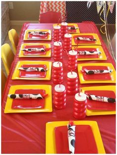 Sizzling Firetruck Birthday Party #FiretruckParty