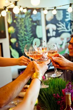 All week long I've been sharing my spring dinner party on The Kitchn, a party I hosted in my one-bedroom apartment in Brooklyn Garden Parties, Dinner Parties, Dinner Club, Don Perignon, Party Planning, Meal Planning, Festa Party, In Vino Veritas, Party Entertainment