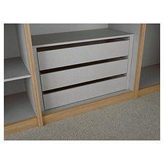 Internal wardrobe drawers