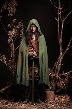 Woman Of The Wood Costume Tutorial (I like the cloak)