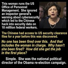 There is no accountability anywhere in this administration.