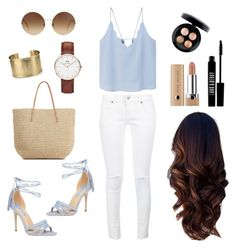 ♡bleu ciel...♡ by clarinette38 on Polyvore featuring polyvore fashion style MANGO Anine Bing Dorothy Perkins Target Daniel Wellington Blue Nile Victoria Beckham MAC Cosmetics Marc Jacobs Lord & Berry clothing