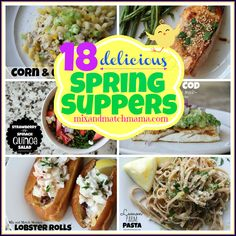 18 Delicious Spring Suppers!