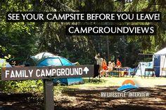 RV Podcast Episode 206: See your campsite before you reserve it - RV Lifestyle