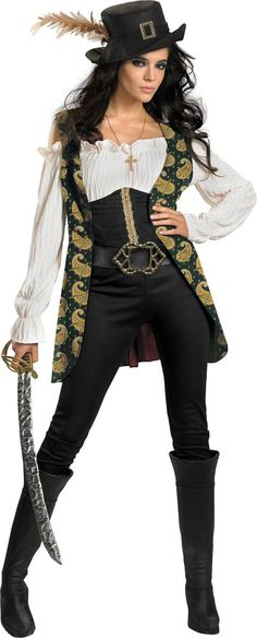 Adult Angelic Costume Deluxe - Pirates of the Caribbean - Party City