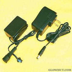 $21.00 ~ Electroluminescent inverter and AC-DC power adapter for EL strip panel glow wire #GLOWHUTCOM